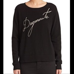 """Milly Cashmere """"Degenerate"""" Sweater"""